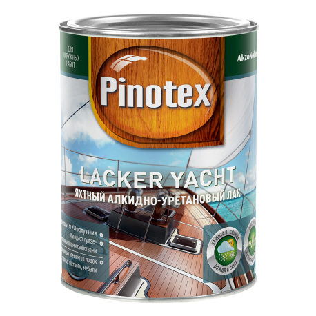 Лак яхтный Pinotex Lacker Yacht