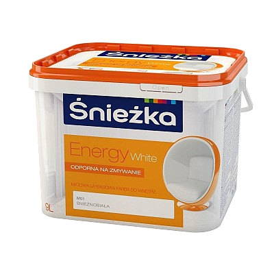 Краска ENERGY White Sniezka PL